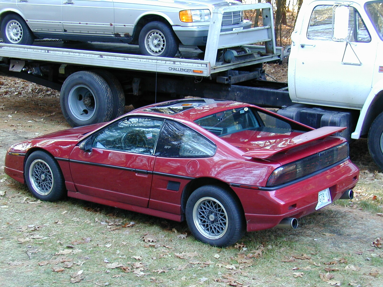Pontiac : Fiero GT Pontiac